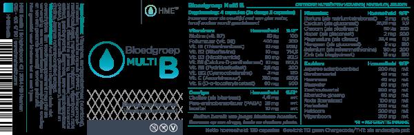 HME Bloedgroep Multi O