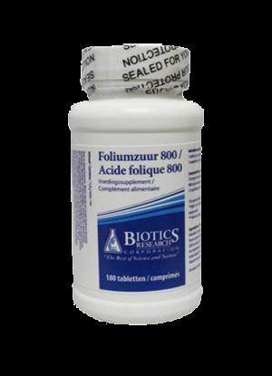 Biotics Foliumzuur 800mcg